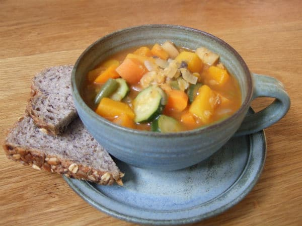 lentil and vegetable soup 9